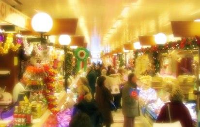 La Halle à la période de Noël