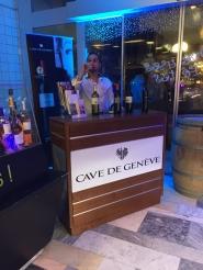Avec l'active participation de la Cave de Genève