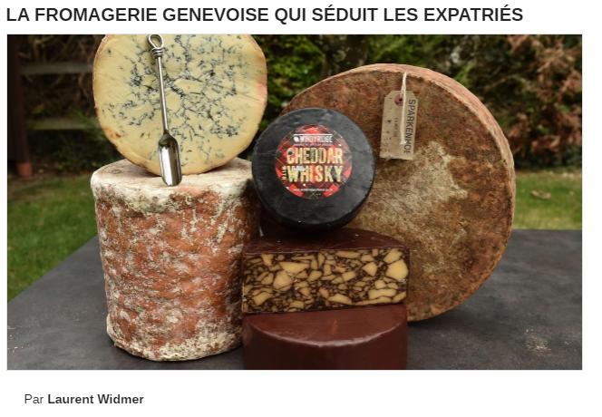 La fromagerie Bruand dans le Monde Economique